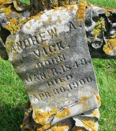VICK, ANDREW ANDERSON - Winneshiek County, Iowa | ANDREW ANDERSON VICK