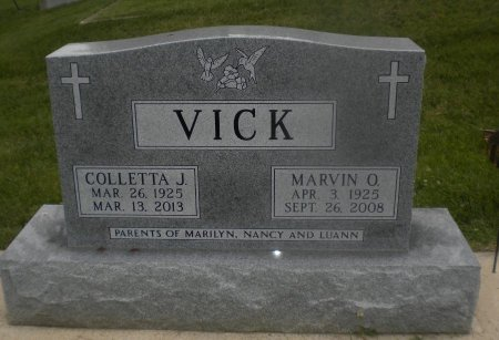 VICK, COLLETTA J. - Winneshiek County, Iowa | COLLETTA J. VICK