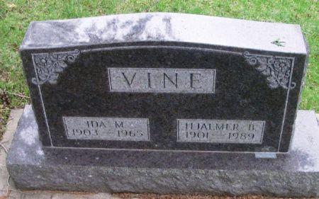 VINE, HJALMER B. - Winneshiek County, Iowa   HJALMER B. VINE