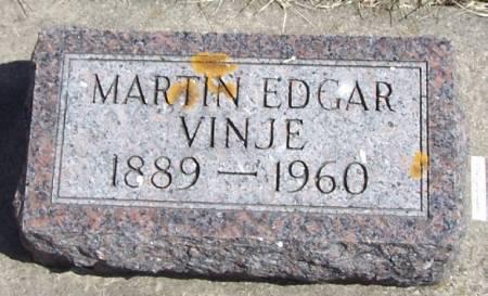 VINJE, MARTIN EDGAR - Winneshiek County, Iowa | MARTIN EDGAR VINJE