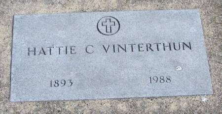 VINTERTHUN, HATTIE C - Winneshiek County, Iowa | HATTIE C VINTERTHUN