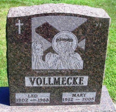VOLLMECKE, MARY - Winneshiek County, Iowa   MARY VOLLMECKE