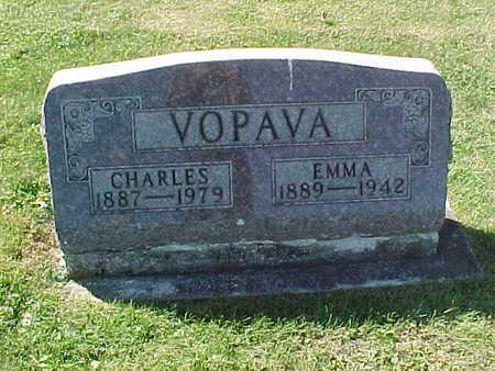 VOPAVA, CHARLES - Winneshiek County, Iowa | CHARLES VOPAVA