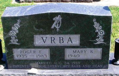 VRBA, ROGER E. - Winneshiek County, Iowa | ROGER E. VRBA