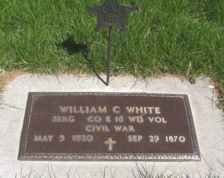 WHITE, WILLIAM CHESTER - Winneshiek County, Iowa | WILLIAM CHESTER WHITE