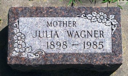 WAGNER, JULIA - Winneshiek County, Iowa   JULIA WAGNER