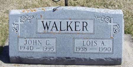 WALKER, JOHN G. - Winneshiek County, Iowa | JOHN G. WALKER