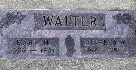 WALTER, KARL H. - Winneshiek County, Iowa | KARL H. WALTER