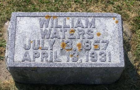 WATERS, WILLIAM - Winneshiek County, Iowa   WILLIAM WATERS