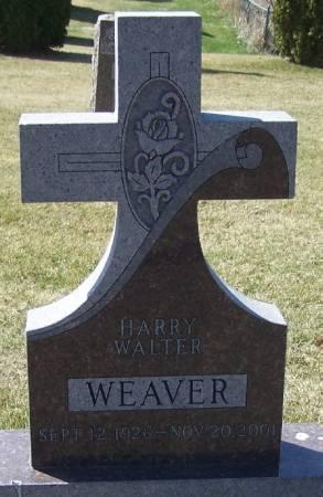 WEAVER, HARRY WALTER - Winneshiek County, Iowa   HARRY WALTER WEAVER
