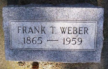 WEBER, FRANK T. - Winneshiek County, Iowa | FRANK T. WEBER