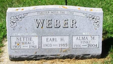 WEBER, NETTIE - Winneshiek County, Iowa | NETTIE WEBER