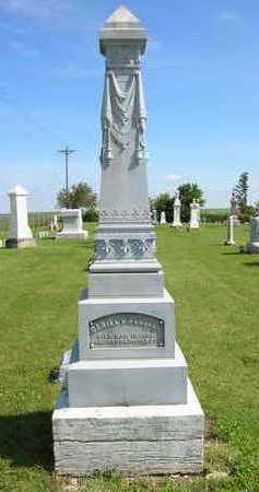 WEBSTER, DANIEL FAMILY STONE - Winneshiek County, Iowa   DANIEL FAMILY STONE WEBSTER