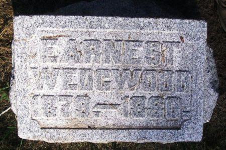 WEDGWOOD, EARNEST - Winneshiek County, Iowa | EARNEST WEDGWOOD