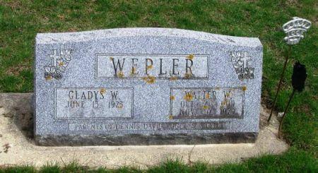 WEPLER, WALTER W. - Winneshiek County, Iowa | WALTER W. WEPLER