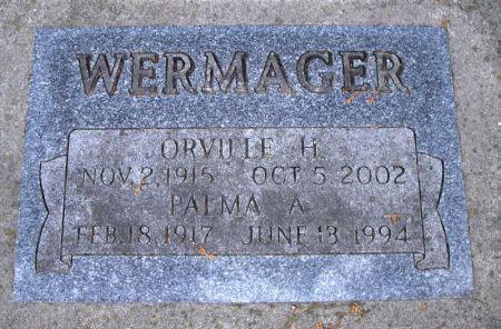 WERMAGER, PALMA A. - Winneshiek County, Iowa | PALMA A. WERMAGER