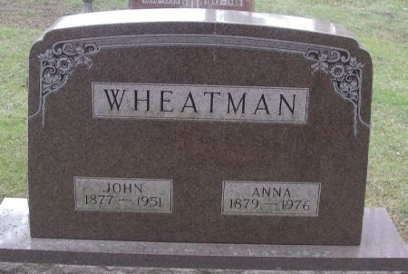 WHEATMAN, JOHN - Winneshiek County, Iowa | JOHN WHEATMAN