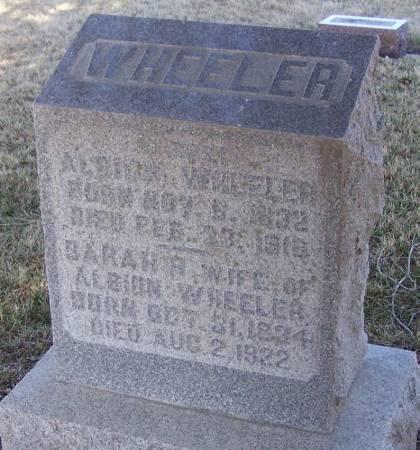 WHEELER, ALBION - Winneshiek County, Iowa | ALBION WHEELER