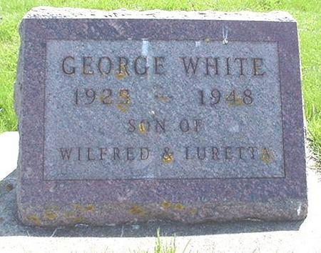 WHITE, GEORGE - Winneshiek County, Iowa | GEORGE WHITE