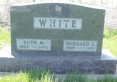 WHITE, RUTH M. - Winneshiek County, Iowa | RUTH M. WHITE