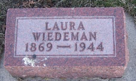 WIEDEMAN, LAURA - Winneshiek County, Iowa   LAURA WIEDEMAN
