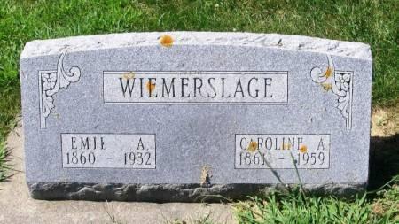 WIEMERSLAGE, EMIL A. - Winneshiek County, Iowa | EMIL A. WIEMERSLAGE