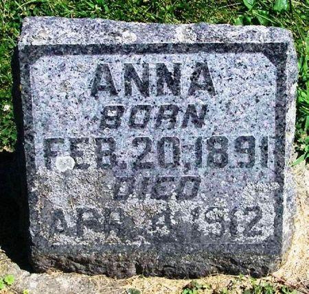 WIEST, ANNA - Winneshiek County, Iowa | ANNA WIEST