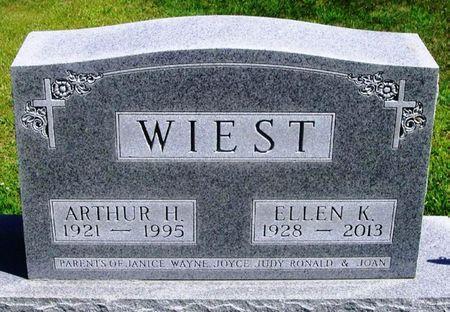 WIEST, ELLEN K. - Winneshiek County, Iowa   ELLEN K. WIEST