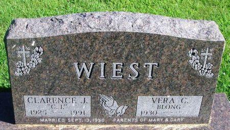 WIEST, CLARENCE J. - Winneshiek County, Iowa | CLARENCE J. WIEST