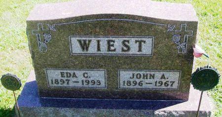 WIEST, JOHN A. - Winneshiek County, Iowa   JOHN A. WIEST