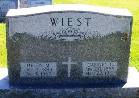 WIEST, GABRIEL G. - Winneshiek County, Iowa | GABRIEL G. WIEST