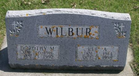 WILBUR, LEE A. - Winneshiek County, Iowa | LEE A. WILBUR
