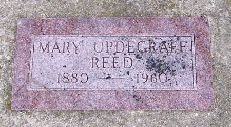 UPDEGRAFF REED, MARY - Winneshiek County, Iowa | MARY UPDEGRAFF REED