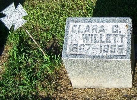 WILLETT, CLARA G. - Winneshiek County, Iowa | CLARA G. WILLETT