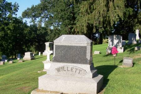 WILLETT, GEORGE RICE FAMILY STONE - Winneshiek County, Iowa | GEORGE RICE FAMILY STONE WILLETT