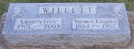 WILLETT, THOMAS KELLOGG - Winneshiek County, Iowa | THOMAS KELLOGG WILLETT