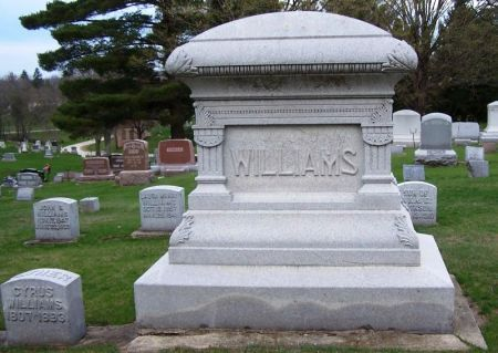 WILLIAMS, CYRUS FAMILY STONE - Winneshiek County, Iowa | CYRUS FAMILY STONE WILLIAMS