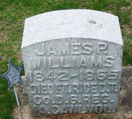 WILLIAMS, JAMES P. - Winneshiek County, Iowa | JAMES P. WILLIAMS
