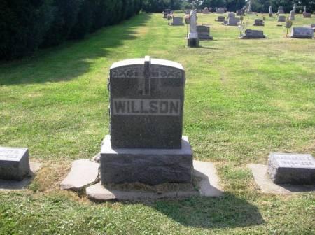 WILLSON, DEWITT C. FAMILY STONE - Winneshiek County, Iowa | DEWITT C. FAMILY STONE WILLSON