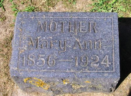 WILSON, MARY ANN - Winneshiek County, Iowa | MARY ANN WILSON