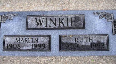 WINKIE, MARTIN - Winneshiek County, Iowa   MARTIN WINKIE