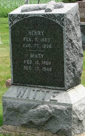 WITTE, HENRY - Winneshiek County, Iowa   HENRY WITTE