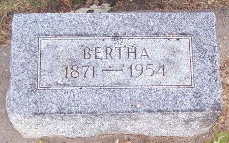 WOLDT, BERTHA - Winneshiek County, Iowa | BERTHA WOLDT