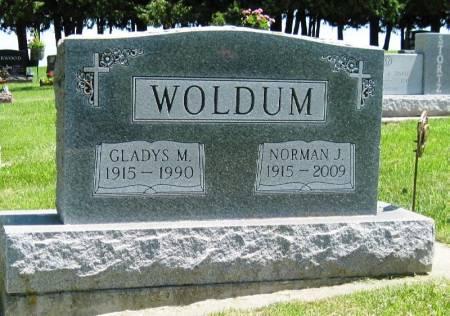 WOLDUM, GLADYS M - Winneshiek County, Iowa | GLADYS M WOLDUM