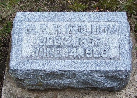 WOLDUM, OLE H. - Winneshiek County, Iowa   OLE H. WOLDUM