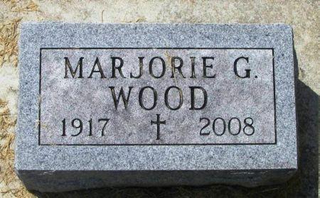 WOOD, MARJORIE G. - Winneshiek County, Iowa | MARJORIE G. WOOD