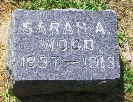 WOOD, SARAH A. - Winneshiek County, Iowa | SARAH A. WOOD