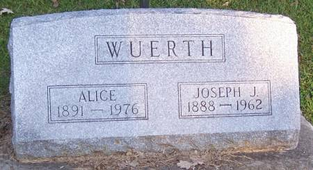 WUERTH, JOSEPH J - Winneshiek County, Iowa | JOSEPH J WUERTH