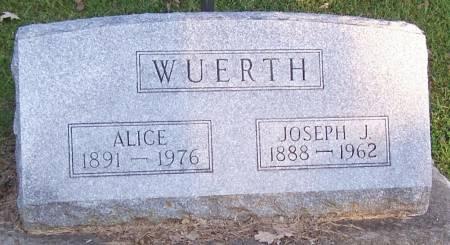 WUERTH, ALICE - Winneshiek County, Iowa | ALICE WUERTH