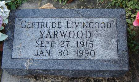 YARWOOD, GERTRUDE - Winneshiek County, Iowa | GERTRUDE YARWOOD